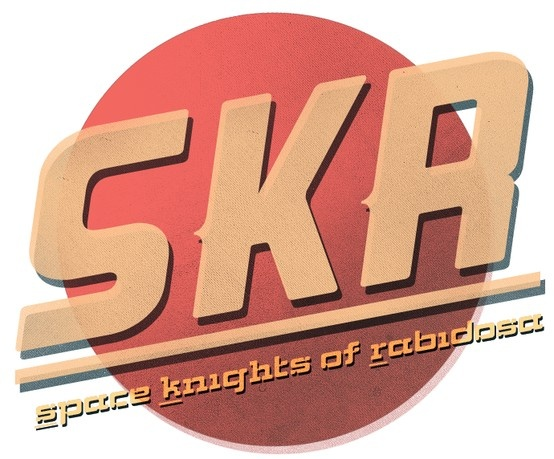 Space Knights of Rabidosa. Logo by @FoxHat