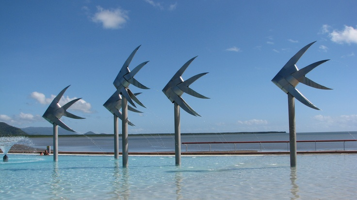 Our favorite place to swim with our kids - the Cairns Esplanade Lagoon