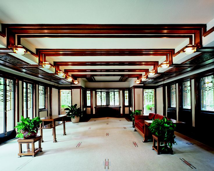 Frederick C Robie House Named One Of The 10 Most