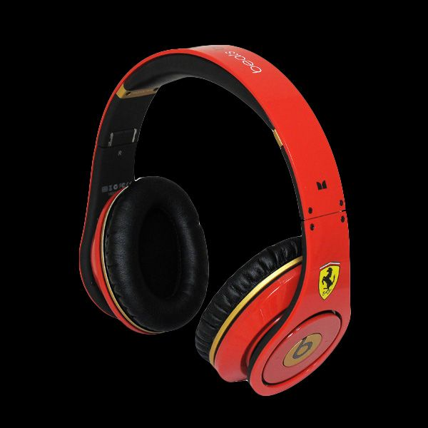 Monster Beats by Dr Dre Studio Ferrari Limited Edition Headphon