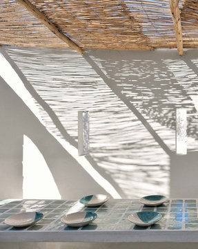 shadow by Annick Lestroyan © Maisons Coté Sud: Sun Ray, Outdoor
