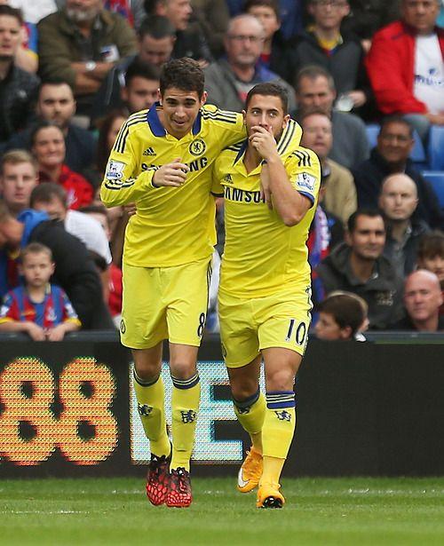 Oscar & Hazard | Chelsea FC
