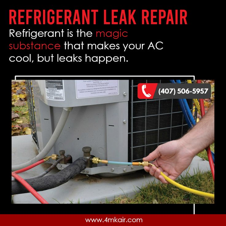 Get local refrigerant leak repair services when you call
