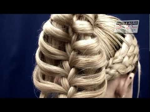 OMG!!! This is an amazing hair tutorial.  Basket weaving incorporated with a cage braid, WOW