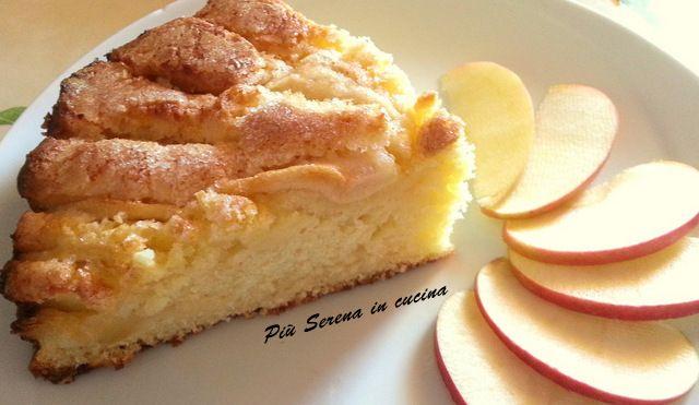 Oggi Piu Serena in Cucina propone la ricetta della torta alle mele, alta e morbida darà un tocco goloso alle vostre colazioni e poi è semplice da preparare.