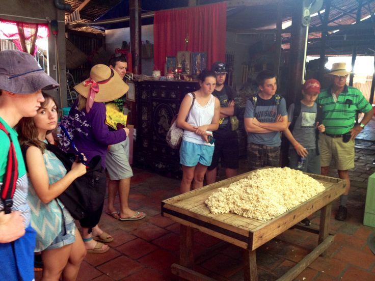 Discovering traditional Mekong life. #VietnamSchoolTours #Mekong