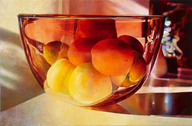MARY PRATT: Fruit Lit in the Rose Bowl