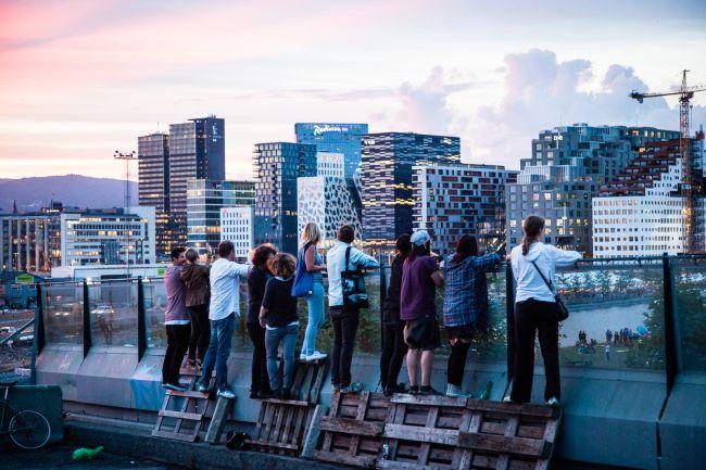Oslo, Norway. Photo: Adrian Bugge –Sørenga bro