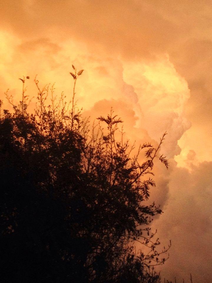 Gran día de nubes