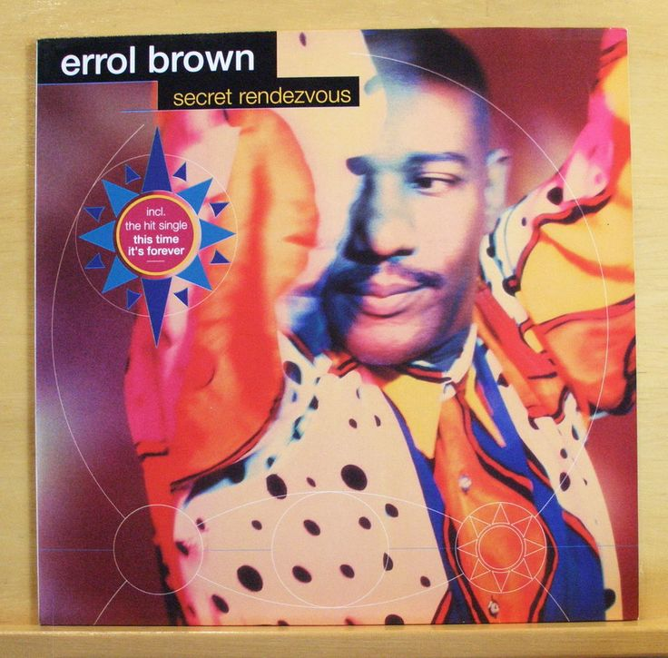 ERROL BROWN Secret Rendevouz Vinyl LP Hot Chocolate This Time it s forever RARE