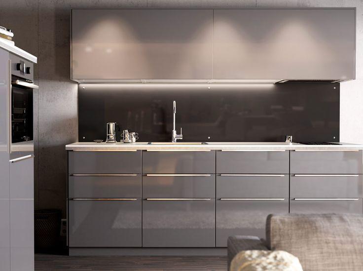 Grijze Keuken Ikea : IKEA Kitchen Ringhult