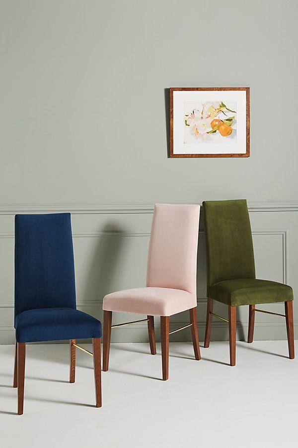 Amazing Velvet Vanessa Dining Chair Anthropologie In 2019 Dining Unemploymentrelief Wooden Chair Designs For Living Room Unemploymentrelieforg