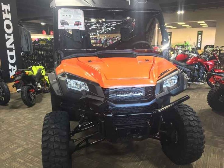 New 2016 Honda PIONEER 1000-3 EPS ATVs For Sale in Minnesota. 2016 HONDA PIONEER 1000-3 EPS, 2016 HONDA PIONEER 1000 EPS FULLY LOADED PACKAGE COMES WITH WINDSCREEN, HARDTOP, SIDE DOORS AND MORE! COME IN TO CHECK IT OUT! ORANGE IN COLOR OUR PRICE: $15,999ALL COLORS AND MODELS AVAILABLE! CALL FOR MORE INFORMATION 952-224-2054 EX 4CITIES EDGE MOTORSPORTSSHAKOPEE MN 55379952-224-2054 EX 4