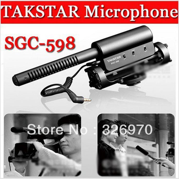 Foleto TAKSTAR SGC-598 Condenser Recording Microphone For Nikon D7100 D5200 D3200 D800 D600 D800E D7000 D90 D5100 D3100