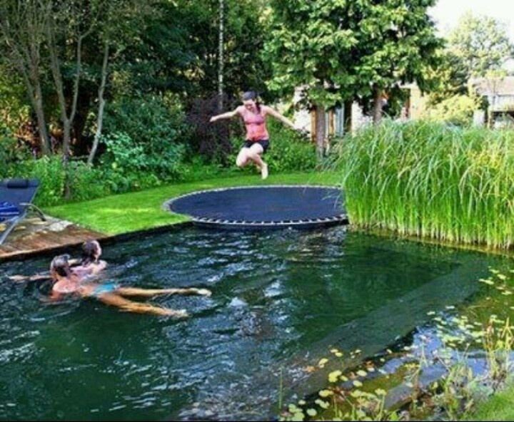 Wonderful idea and it will go with my backyard river swimming pool theme.