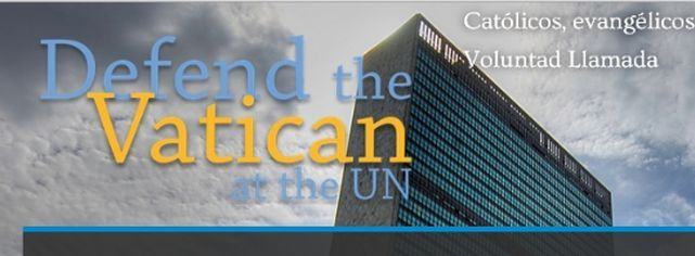 Católicos y evangélicos, unidos para defender la presencia de la Santa Sede en la ONU