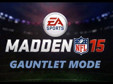 Madden 15 [Xbox 360]  Gauntlet Mode