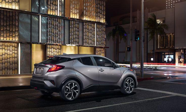 2018 Toyota C-HR Exterior Layout