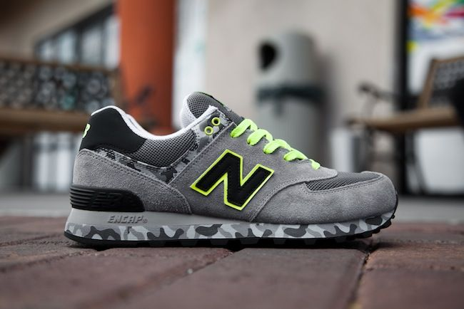 new balance black limited edition 574 trainers