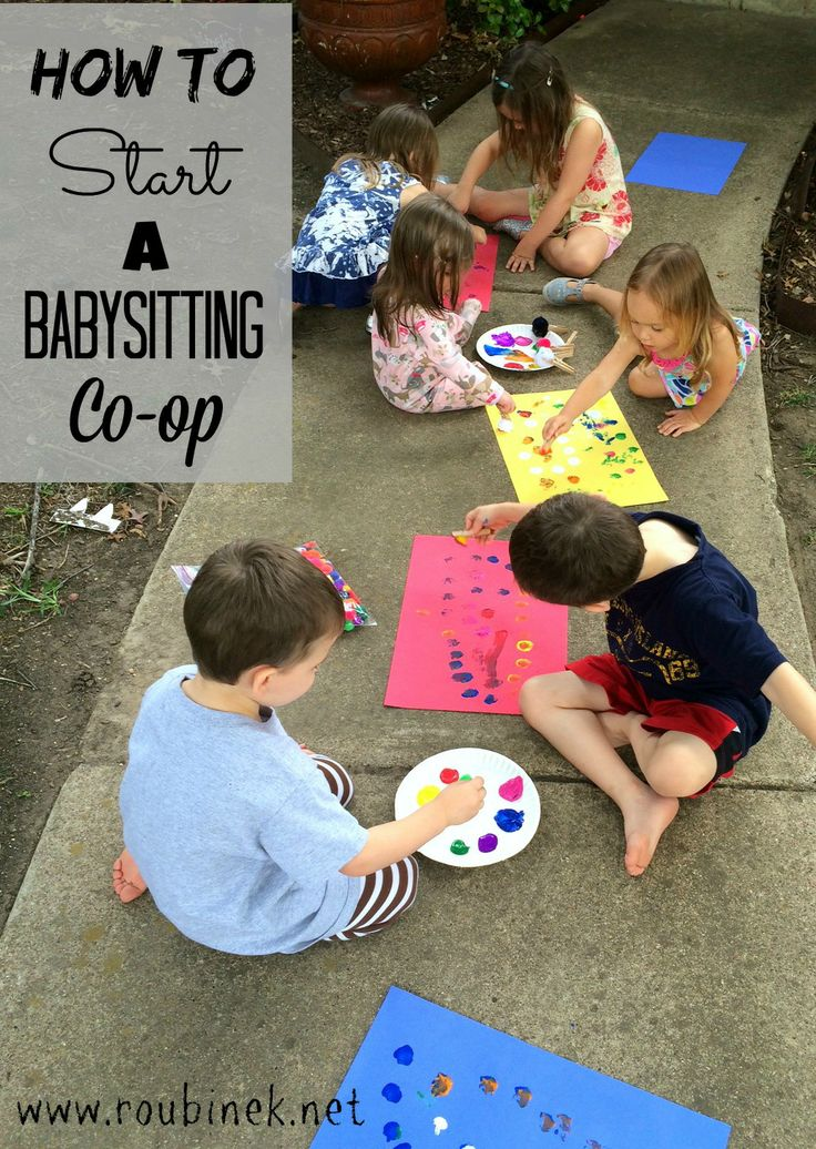 How to Start a Babysitting Co op 196
