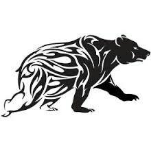 Tribal bear                                                       …