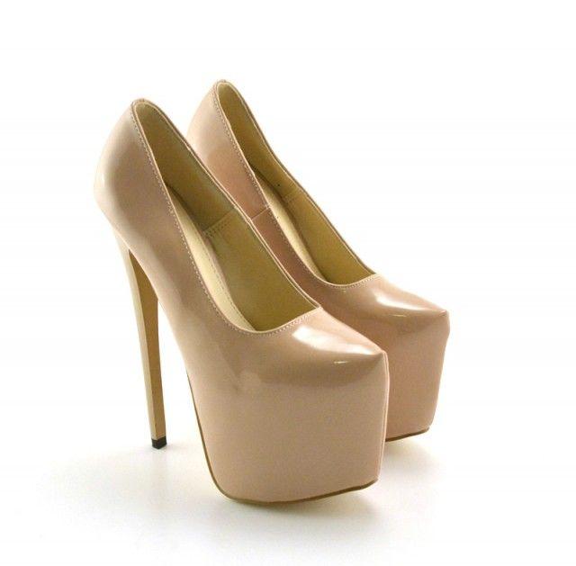 Pantofi cu platforma Xoco Khaki -->>> http://www.mujer.ro/pantofi-cu-platforma-xoco-khaki