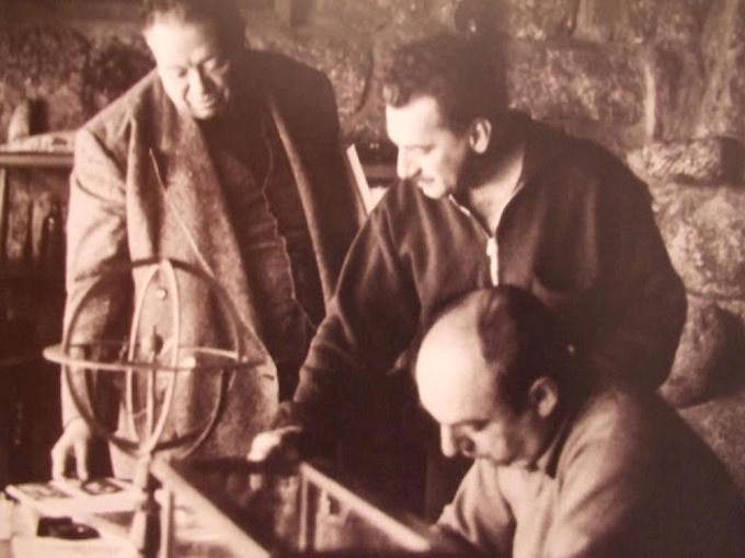 Diego Rivera, Jorge Amado e Pablo Neruda