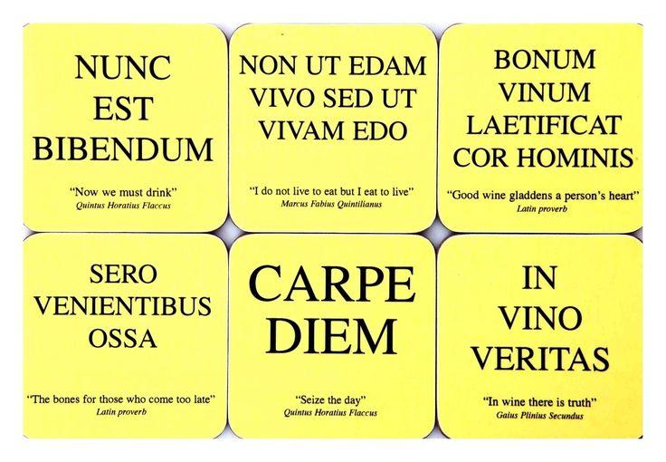 more Latin phrases | Loony Linguistics = La linguistique ...