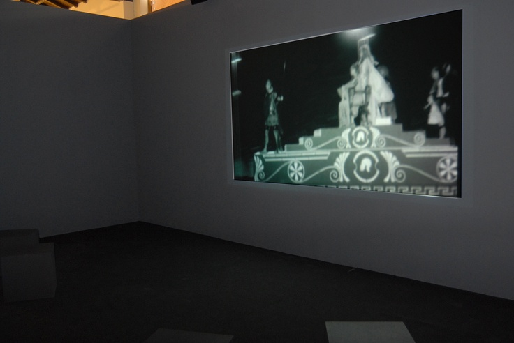 Στέφανος Τσιβόπουλος Untitled (Remake) [Χωρίς Τίτλο (Ριμέικ)], 2007 Βίντεο 13΄ Παραχώρηση του καλλιτέχνη και Γκαλερί ΑΔ, Αθήνα