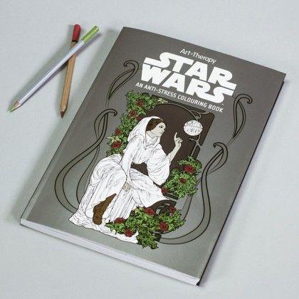 Star Wars Målarbok för Vuxna - Roliga Prylar