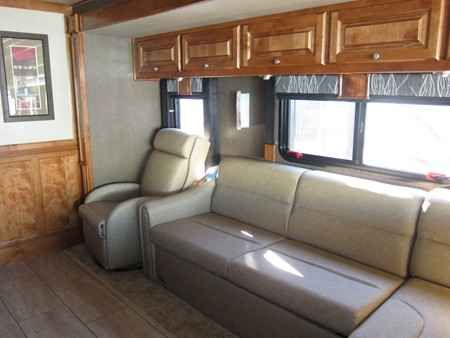 2016 New Tiffin Allegro 36LA Class A in Minnesota MN.Recreational Vehicle, rv, 2016 Tiffin Allegro 36LA, Double Slide, Gas, White Mahogany Full Body Paint, English Chestnut Cabinetry, Upgraded Countertops, In Dash Navigation, In Motion Satellite, Central Vacuum System, Washer/Dryer Combo