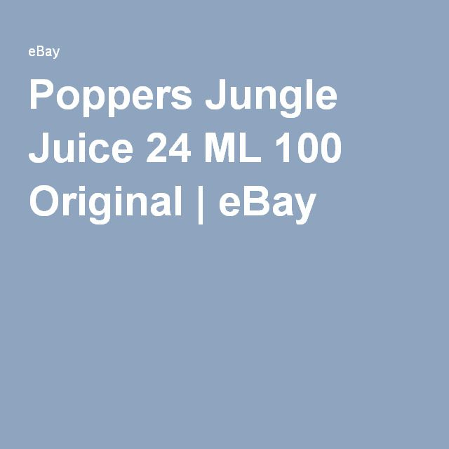 Poppers Jungle Juice 24 ML 100 Original | eBay