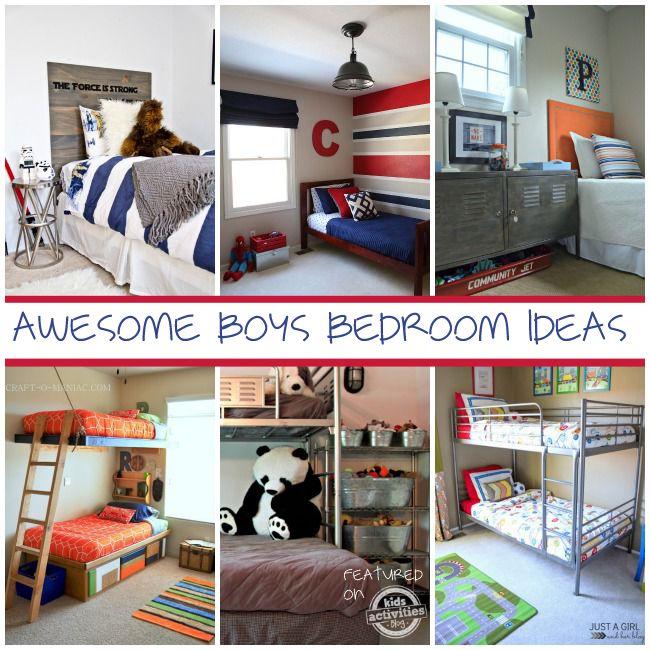 49 Best Pimp My Boys' Rooms Images On Pinterest