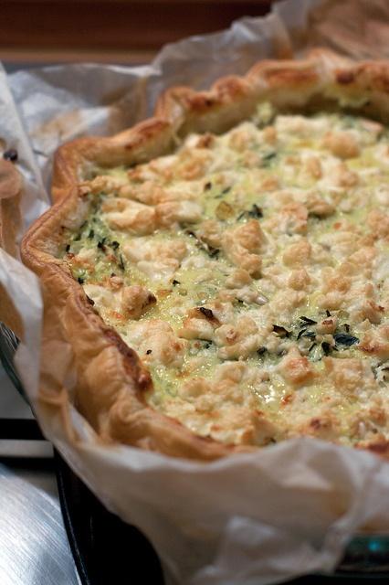 Torta salata di zucchine e feta