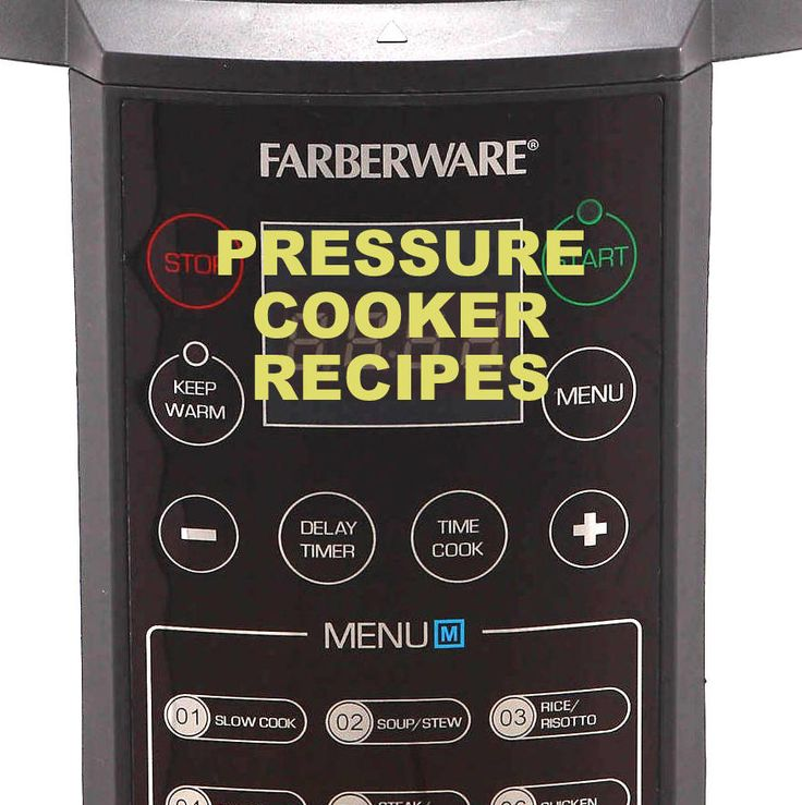 Farberware 7-in-1 (1st gen) Pressure Cooker Recipe Booklet For Faberware Pressure Cooker Model Number: WM-CS6004W Download Manufacturer Website: Lifetime Brands