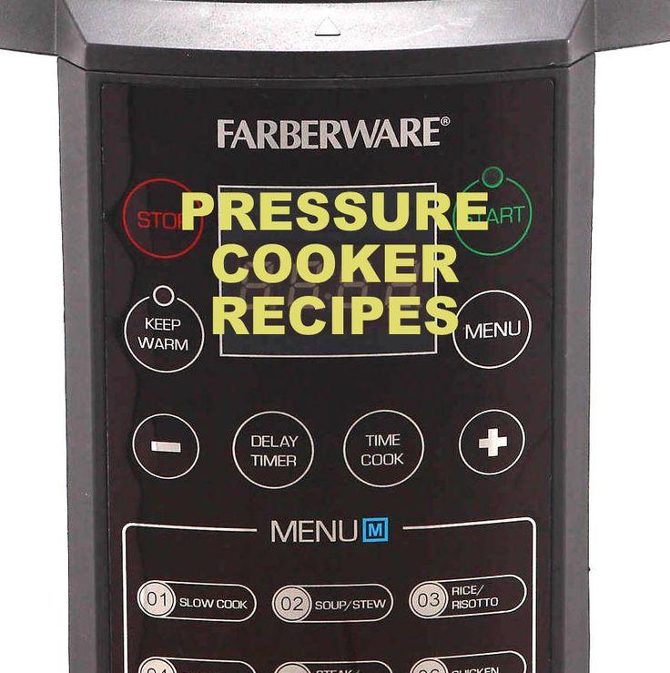 Farberware 7-in-1 (1st gen) Pressure Cooker Recipe Booklet For Faberware Pressure Cooker Model Number: WM-CS6004W Download Manufacturer Website: Lifetime Brands