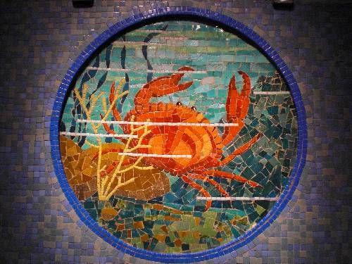 Expo Rennes Odorico Emaux Emoi Art De Mosaique Murale Musee De Bretagne œuvre Mosaique