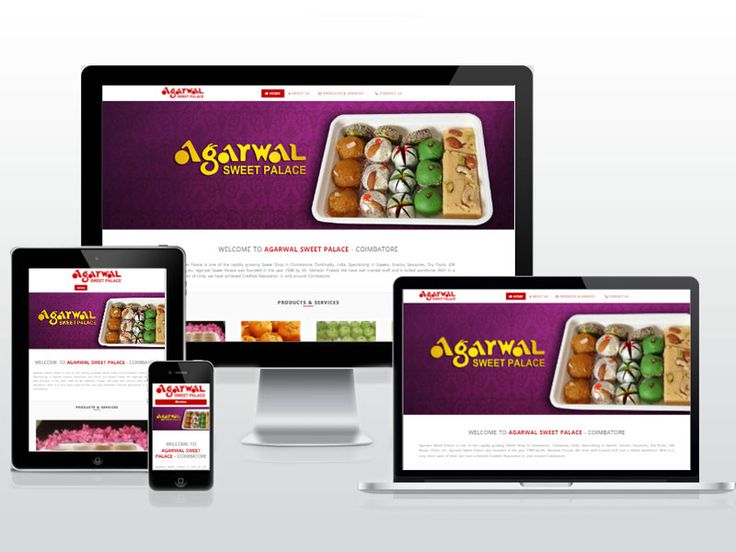 #123Coimbatore have designed Responsive Website for Agarwal Sweet Palace - Specialized in Sweets, Snacks, Savouries, Dry Fruits, Gift Boxes, Chats, etc. => http://www.webdesign.123coimbatore.com/portfolio.php