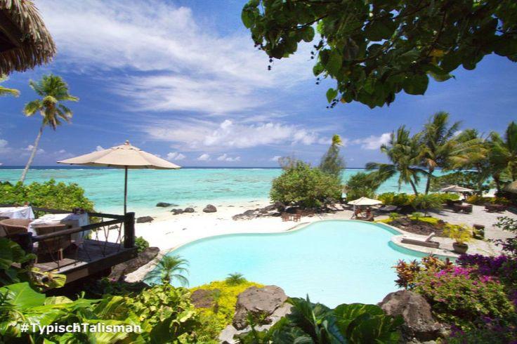 Als onderdeel van 'Small Luxury Hotels of the World' en winnaar van Tripadvisor Travellers' Choice Award 2015 staat het @PacificResort op de Cook Eilanden garant voor een op en top verwenverblijf. #TypischTalisman #CookEilanden #Tripadvisor #CookIslands #Aitutaki #PacificResort