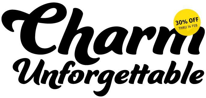 Ganache from Laura Worthington. #typography #fonts