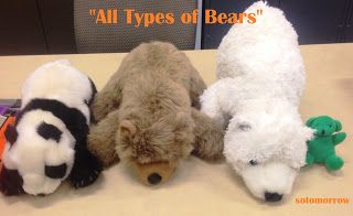 """All Types of Bears"" Rhyme ~ so tomorrow"