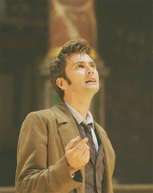 David Tennant as The Doctor My Favorite Actor!