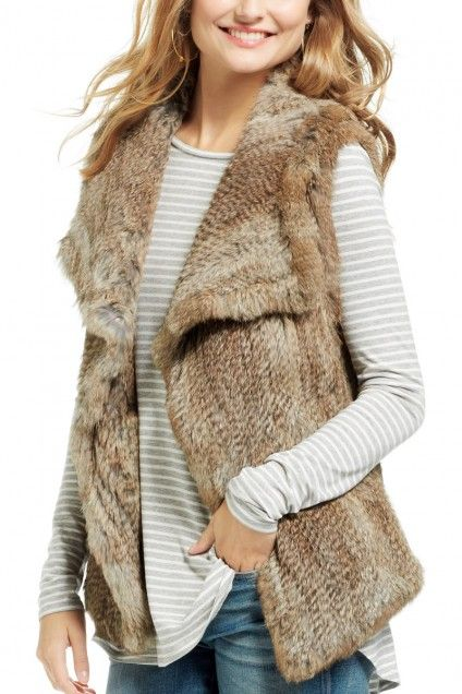 Can they make a faux fur version… And then stop making real fur versions.