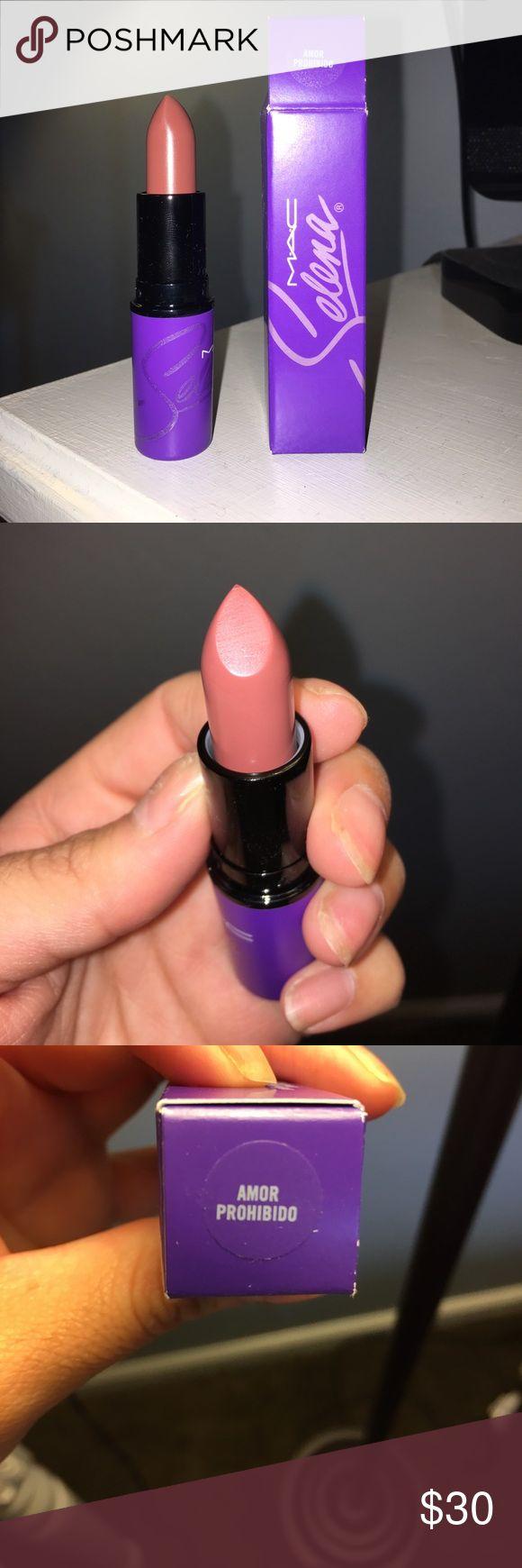 MAC Selena - Amor Prohibido Lipstick NWT, I have two available! Get this rare Mac Selena lipstick! Beautiful glazed nude. Perfect for everyday wear! MAC Cosmetics Makeup Lipstick