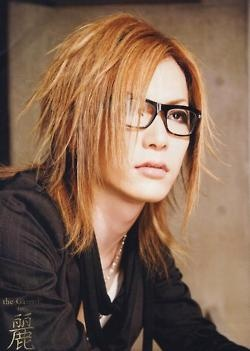 "uruha | Tumblr...He is the lead guitarist from the Japanese rock band ""The Gazette! I love him so much!"