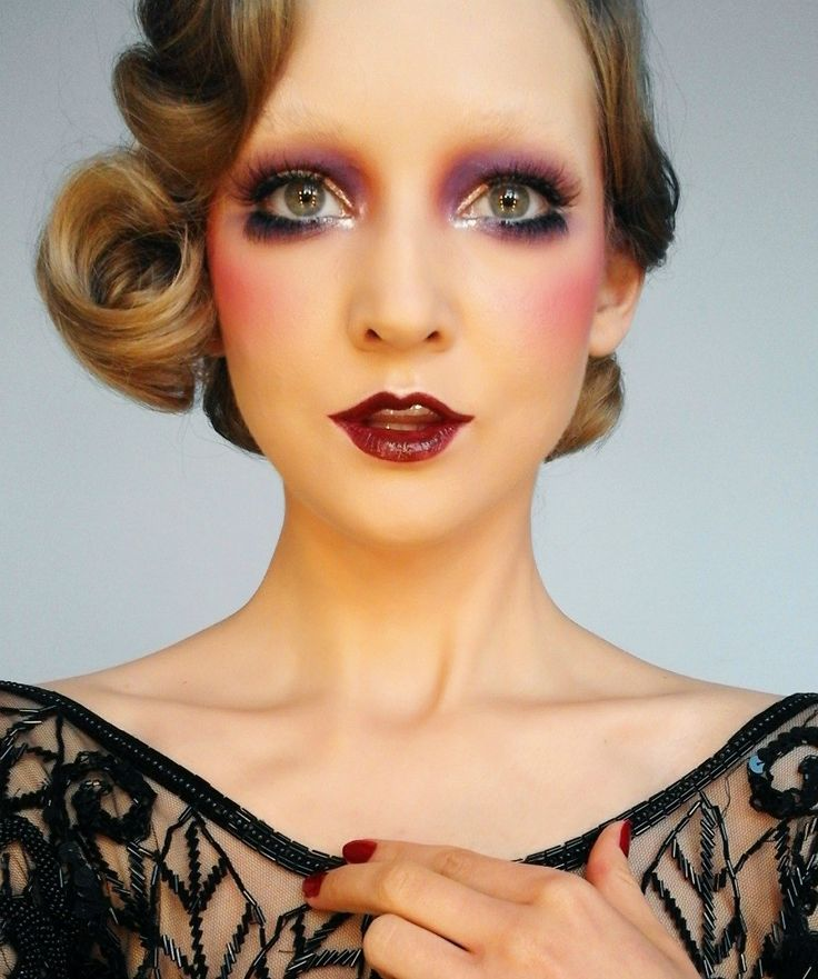 Surprising Best 10 Roaring 20S Makeup Ideas On Pinterest 1920S Makeup Hairstyle Inspiration Daily Dogsangcom