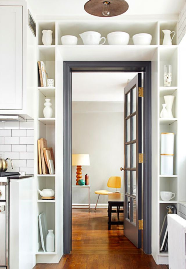 The 25 Best Storage Design Ideas For Small Kitchens Home Small Spaces Small Space Living