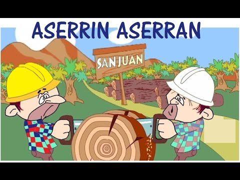 Aserrín Aserrán - Canción Infantil - YouTube