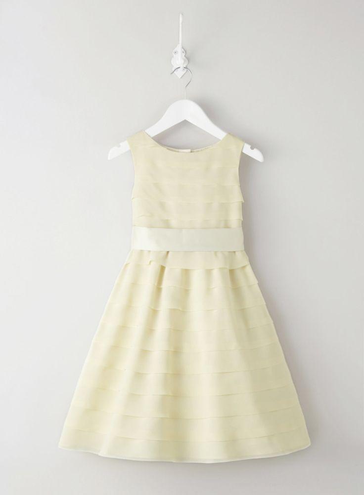 Scarlett Lemon Flower Girl Dress - dresses - flower girl - BHS