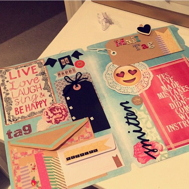 Outgoing // file folder mail #penpals